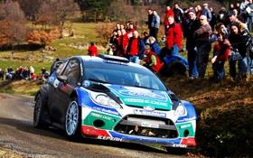 Обои 2012, ралли, WRC, Монте Карло, Грязь, ford Fiesta RS
