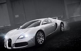 Картинка машина, туман, Bugatti Veyron, GTA 4