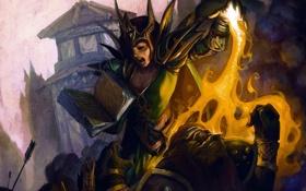 Обои Priest, Исцеление, Spellbook, Книга, World of Warcraft, Заклинание, Жрица