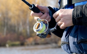 Обои nature, fishing, toes, fishing equipment