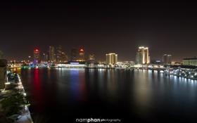 Обои Downtown, Photography, Island, Tampa, Nam Phan, Davis