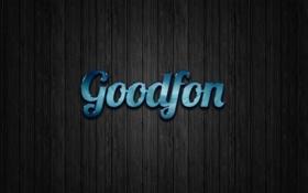 Обои текст, дерево, Goodfon