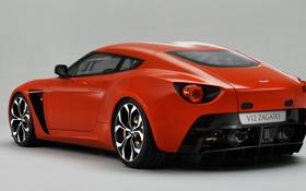 Картинка Aston Martin, supercar, 2011, V12, Zagato