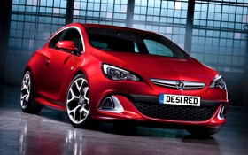 Обои Opel, VXR, полумрак, передок, Воксхол, Vauxxhall, астра