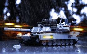 Картинка игрушка, танк, Abrams, Абрамс