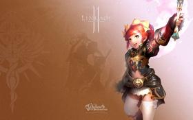 Картинка девушка, lineage 2, гном, линейка, пробуждение, awakening, богиня разрушения