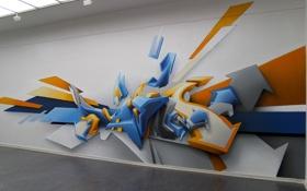Обои стена, рисунок, graffiti