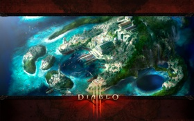 Обои Blizzard, Diablo 3, Diablo III, Diablo, диабло 3, диабло, диабло III