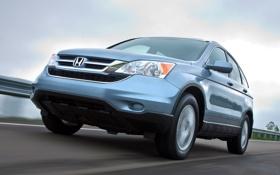 Картинка Honda, ракурс, хонда, передок, универсал, CR-V