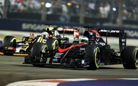 Обои Honda, Formula 1, Alonso