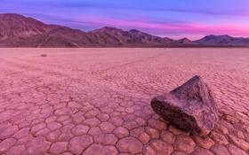 Обои облака, Калифорния, небо, камень, вечер, долина смерти, пустыня