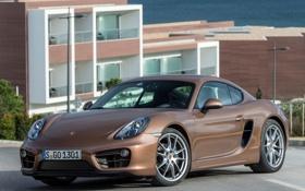 Картинка 2013, авто, кайман, Cayman, Porsche, порше