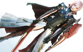 Картинка меч, girl, Final Fantasy XIII, Lightning, Lightning Returns