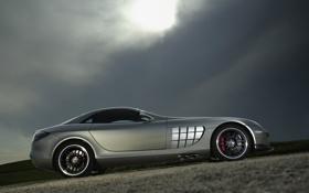 Обои Mercedes, Mclaren SLR 722, машина, тачки, мощь, мерины, машины