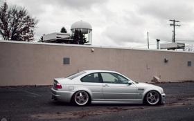 Картинка BMW, E46, stance works