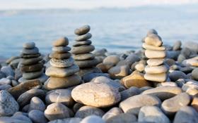 Картинка камни, Франция, France, Женевское озеро, Leman lake, Amphion