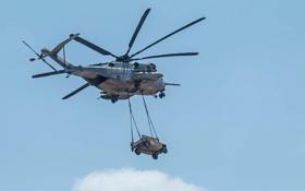 Обои Super Stallion, полет, доставка, CH-53