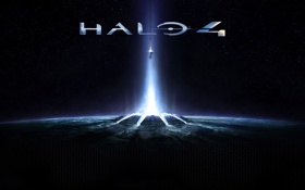Картинка космос, звезды, shooter, Halo 4