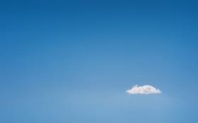 Картинка белый, лето, облака, синева, голубой, голубое, небеса