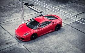 Обои Ferrari F430, Novitec Rosso, SportsCar