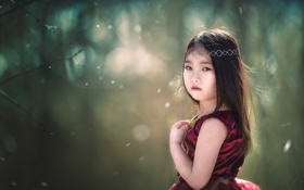 Картинка портрет, взгляд, девочка