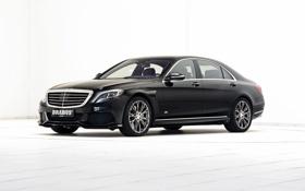 Картинка Hybrid, гибрид, S-Klasse, W222, мерседес, черный, седан