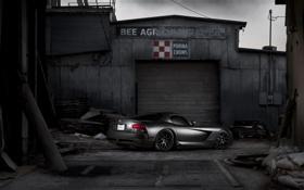 Обои Dodge, Viper, блек