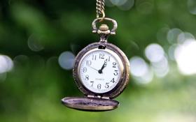 Обои время, фон, widescreen, обои, настроения, часы, размытие