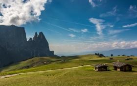Обои Italy, Dolomiti, Alpe di Siusi