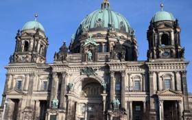 Обои Германия, Берлин, Кафедральный собор, Музейный остров, берлинер дом
