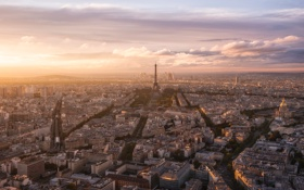 Картинка облака, Париж, вид