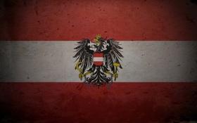 Обои Австрия, флаг, герб