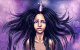 Обои девушка, волосы, принцесса