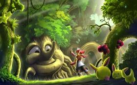 Обои лес, волшебный, Seeds For You