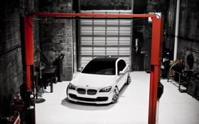 Картинка bmw, white, cars, auto, wallper, wallpapers auto, обои авто