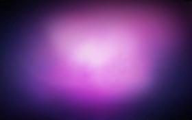 Обои фиолетовый, звезды, свет