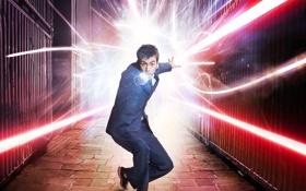 Картинка костюм, доктор кто, Дэвид Теннант, отвёртка, 10 доктор