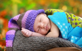 Картинка фон, сон, младенец
