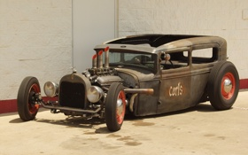 Обои rat rod, америка, america, usa, ford car, сша, hot rod