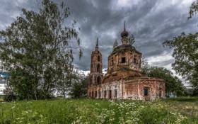 Обои церковь, храм, духовность