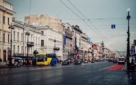 Картинка улица, Россия, Russia, питер, санкт-петербург, St. Petersburg, Невский проспект