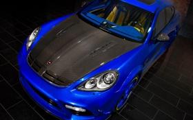 Обои Turbo, Porsche, авто, передок, тюнинг, карбон, капот