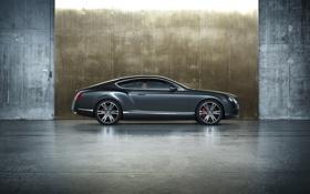 Картинка car, машина, трасса, 2012 Bentley Continental GT V8, 2156x1612