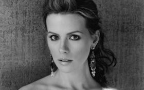 Обои Кейт Бекинсейл, Чёрно-белая, Kate Beckinsale
