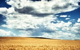 Обои облака, небо, холмы
