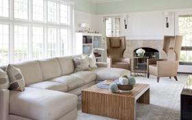 Обои дизайн, дом, стиль, вилла, интерьер, гостиная