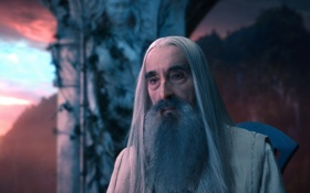 Обои film, hobbit, saruman