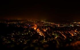 Картинка ночь, город, фотограф, photography, photographer, Björn Wunderlich, Weinheim