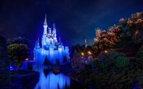 Обои Walt disney world, Cinderella Castle, Magic Kingdom