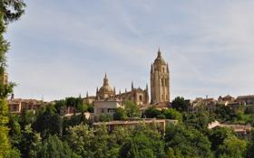 Картинка собор, Испания, Spain, Сеговия, Segovia Cathedral, Segovia